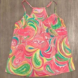 Lilly Pulitzer flamingo tank strap top. SMALL